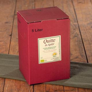 Apfel-Quitten-Saft Bag-in-Box