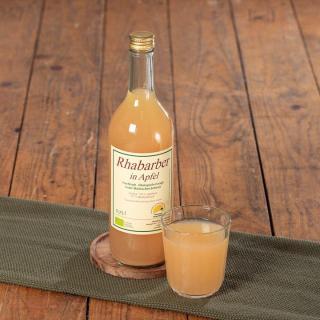 Rhabarber-Apfel-Saft