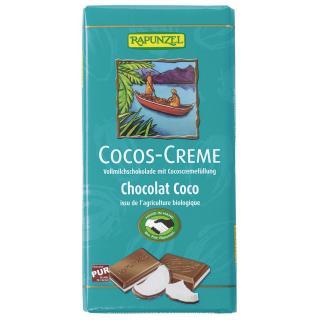 Cocos Creme Vollmilch Schokolade gefüllt HIH