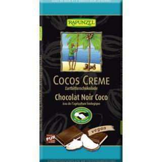 Cocos Creme Zartbitter Schokolade gefüllt HIH