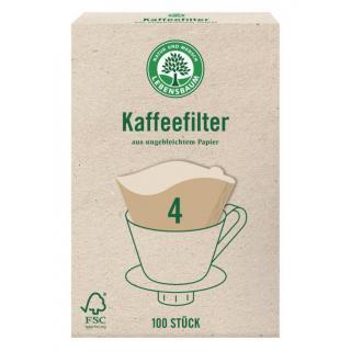 Papier Kaffeefilter, Größe 4