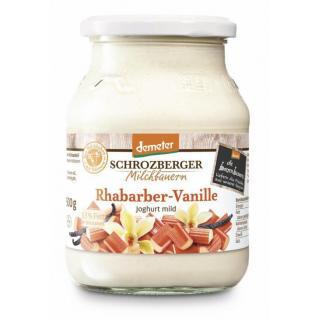 Joghurt Rhabarber   Glas