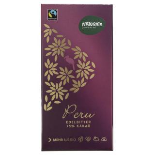 Edelbitter Schokolade Peru 75%