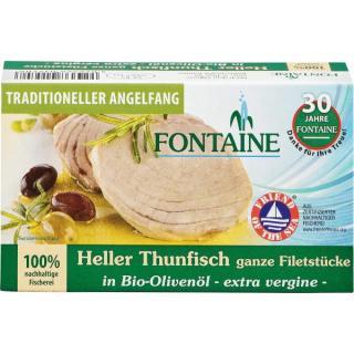 Heller Thunfisch in Bio Olivenöl 120g