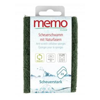 Memo Spülschwämme scheuerstark, 2 St Packung