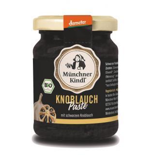 Schwarze Knoblauch Paste