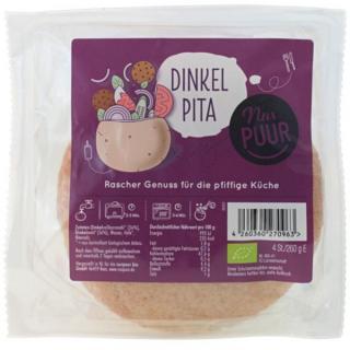 Dinkel Pita Taschen 4 Stück