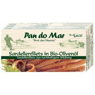 Anchovis in Bio Olivenöl