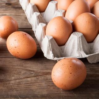 Eier lose Größe L
